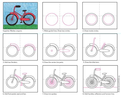 ns3 tutorial fifth cc how to draw a bike art projects for kids