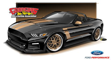 Mustang Giveaway - new giveaway 2017 mustang convertible debuts this weekend goodguys hot news