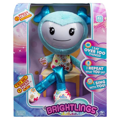 amazon com brightlings interactive singing talking 15