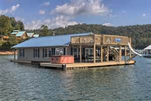 floating homes rentals flat hollow marina on norris lake tennessee vacation