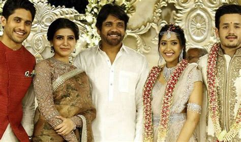 actress amala and nagarjuna wedding photos nagarjuna s son akhil akkineni and fiancee shriya bhupal s
