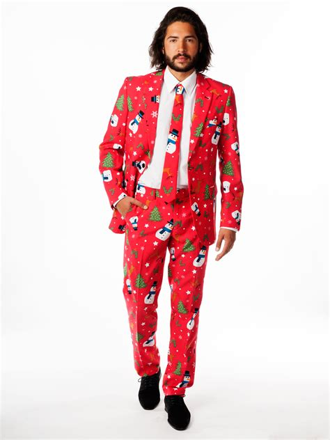 suit for christmas party opposuit mens suit rudolph reindeer winter fancy dress ebay