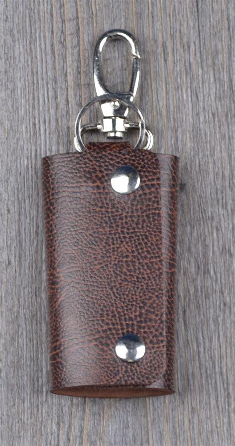 Handmade Leather Key Holder - knicker vintage handmade leather key holder wallet