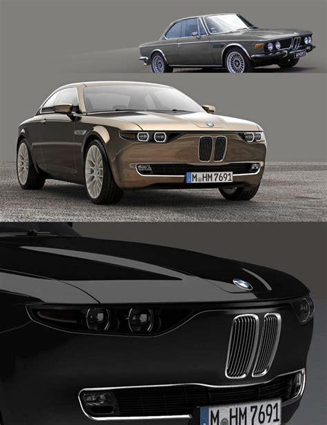 Bmw Cs Vintage Concept Coupe Sports Cars Ruelspot Com