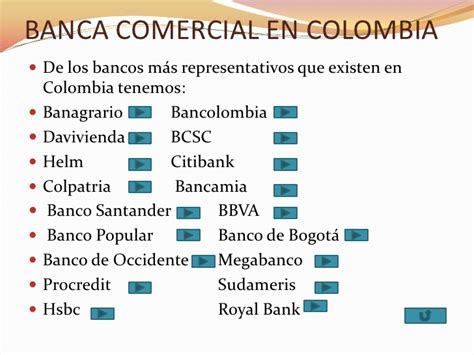 banco de colombia sistema financiero colombiano