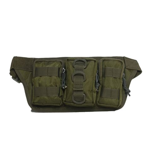 outdoor tactical molle waist pack phone pouch belt bag hiking fishing bag ebay