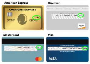 how to find your credit card security code