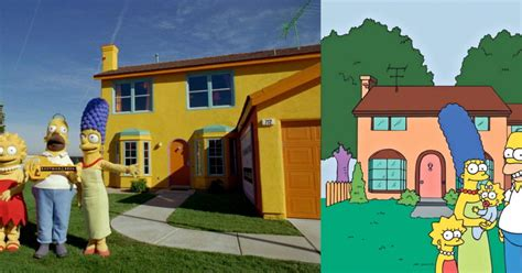 casa de los simpson real simpsons house in real life www pixshark images