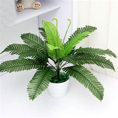 artificial silk foliage plant simulaton plastic large