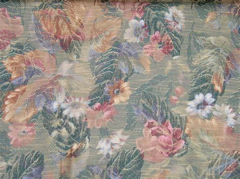 beautiful upholstery fabric vintage beautiful floral and leaf upholstery fabric old