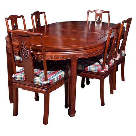 rosewood chinese dining room set  stdibs