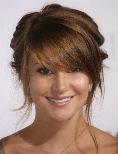 hairstyles with blended bangs blending bangs into side layers 20 layered hairstyles