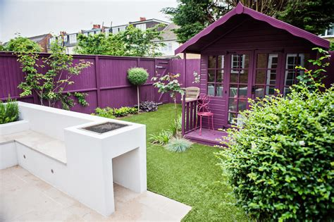 funky small garden design 23 wimbledon garden designed and constructed by the garden builders