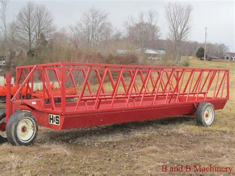 Hay Feeder Wagon For Sale h s hay bale feeder wagon with use 20 foot
