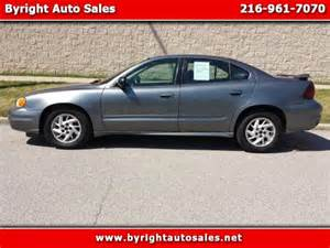 2005 Pontiac Grand Am Problems Pontiac Grand Am 2005 Cleveland Mitula Cars