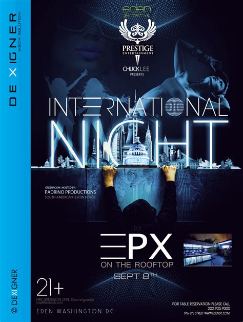 flyer design deviantart international night club flyer design by dexigner ms on