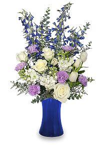 light blue flower arrangements aquamarine dreams march s favorite flower color