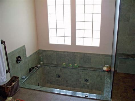 custom bathtub bathroom tile design ideas photos and descriptions