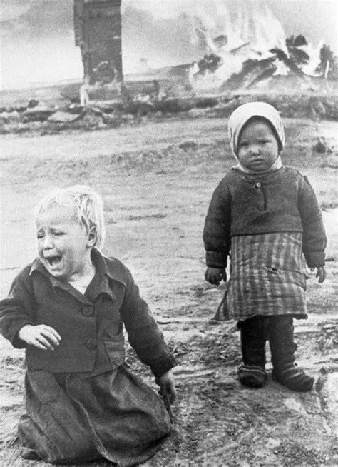 """Infancias rotas por la II Guerra Mundial: """"La sensación de"""