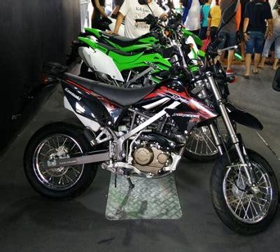 kawasaki d tracker 150cc th 2015 jual motor kawasaki d
