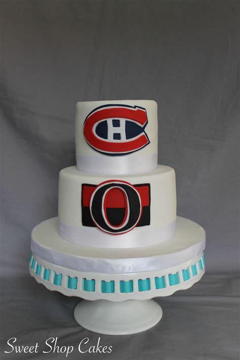 hockey themed wedding cake cakecentral
