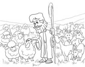 Parable Of The Sheep And The Goats Coloring Page Free Parables Of Jesus Coloring Pages
