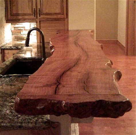 wood bar top ideas 44 reclaimed wood rustic countertop ideas decoholic