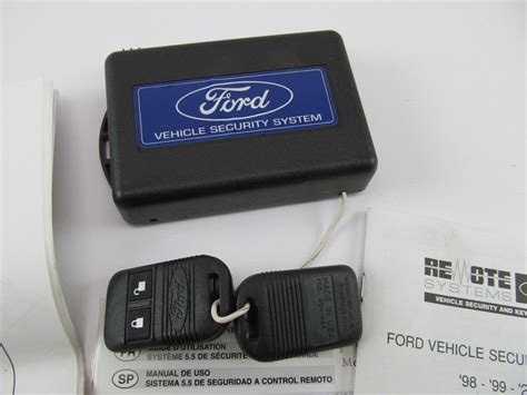 security system 2001 ford windstar interior lighting oem nos ford 5 5 remote vehicle security module w 2 fobs