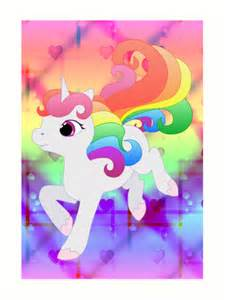 Pony Wall Stickers quot cute baby rainbow unicorn quot art prints by lyddiedoodles