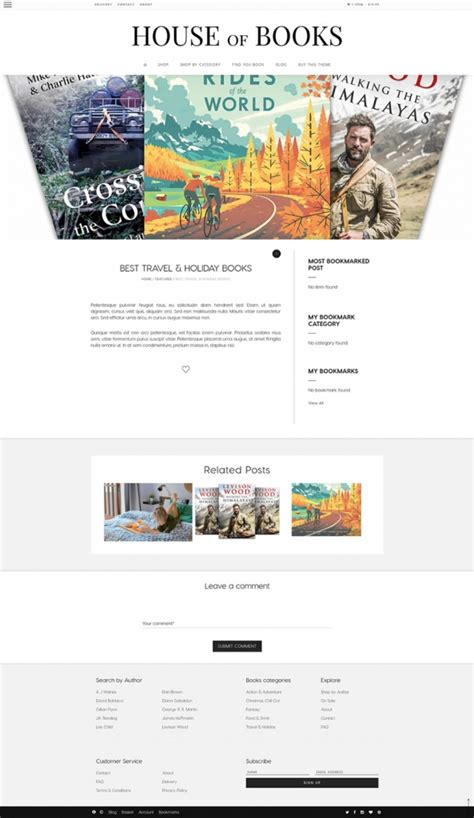 E Sound Book 10 Theme book store theme house of books by themebullet