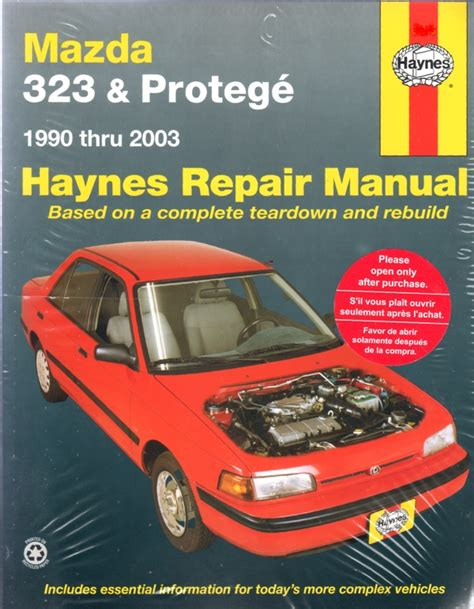 best auto repair manual 1991 mazda familia engine control mazda 323 protege 1990 2003 haynes service repair manual