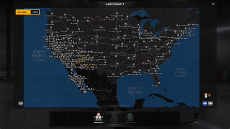 map usa truck simulator map remix ats v1 4 modhub us