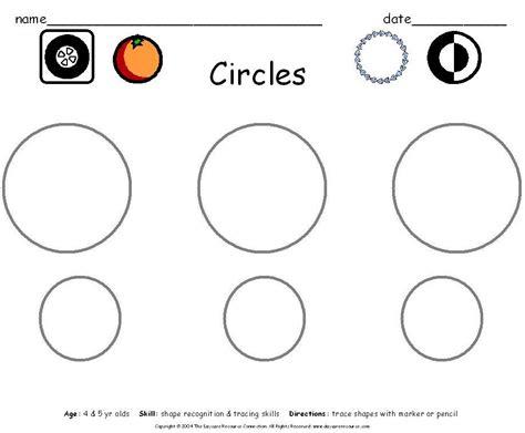 circle coloring pages preschool preschool printables worksheets