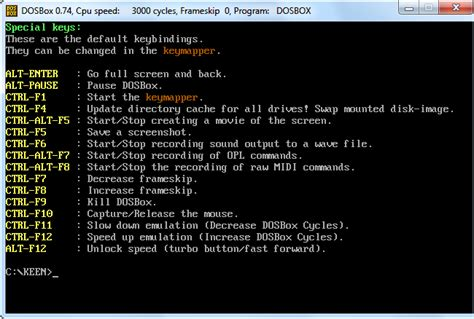 Old Dos Games Full Version | how to use dosbox to run dos games and old apps