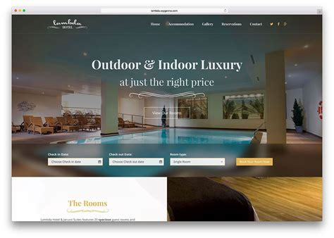 css template designs for hotel booking supplies 10 mẫu website đặt ph 242 ng đặt chỗ đẹp v 224 tiện 237 ch 2018