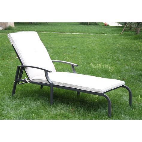 Lounge Patio Chair by Outsunny Outdoor Lounge Chaise Chair Recliner Garden Patio