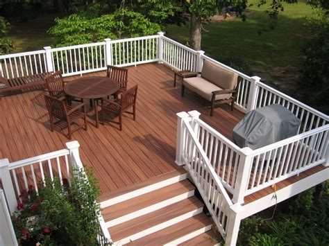 stained decks ideas  pinterest colored