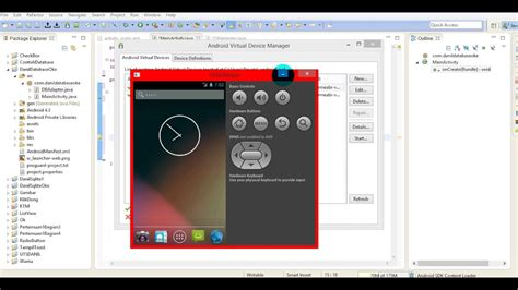 membuat database android eclipse tutorial membuat database pada eclipse youtube