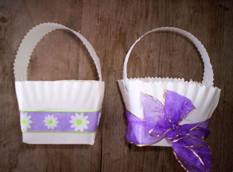 Easter Baskets With Paper Plates - paper plate easter baskets