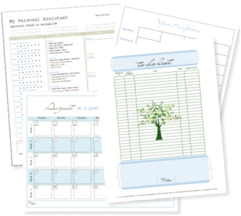 free printable home planner pages free home and life management printables