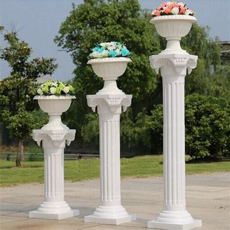 Columns For Decorations by Wedding Decoration White Pillars For Sale Buy