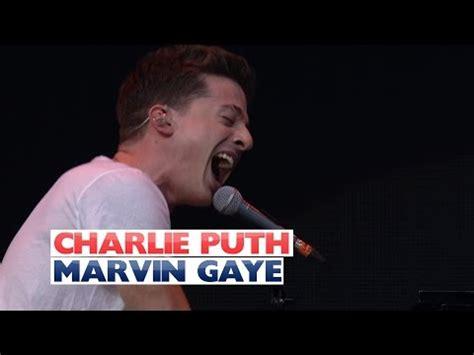 charlie puth jingle bell ball charlie puth marvin gaye ft meghan trainor live meghan