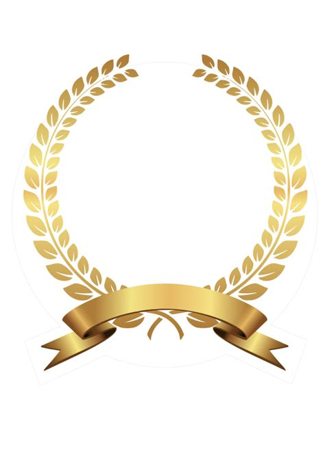 golden pattern png clipart golden laurel wreath