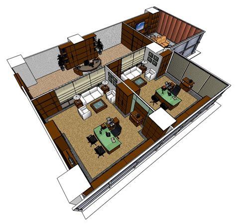 layout ruang direksi layout ruang kantor bni securities
