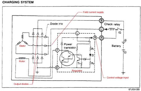 how does a diode work in a car the mazda rx 7 86 88 technical page