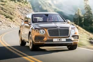 Bentley Suv Truck Bentley Reveals 2017 Bentayga Suv In