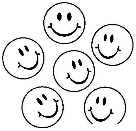 imagenes niños felices para colorear caritasfelices dibujo de 5 caritas felices para pintar y