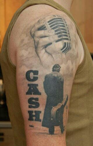 simple johnny tattoo the gallery for gt johnny cash quotes tattoo