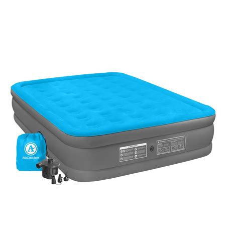 air comfort c mate size raised air mattress 6302qrb vip outlet