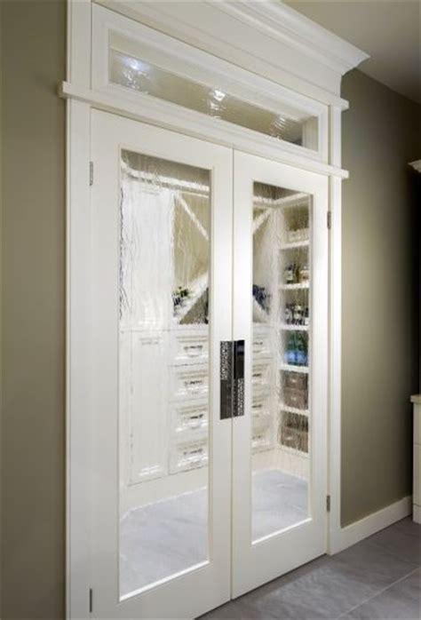 Fogged Glass Door Foggy Glass Door Look Is Pretty Neat Walking Into The Pantry Kitchen The Doors